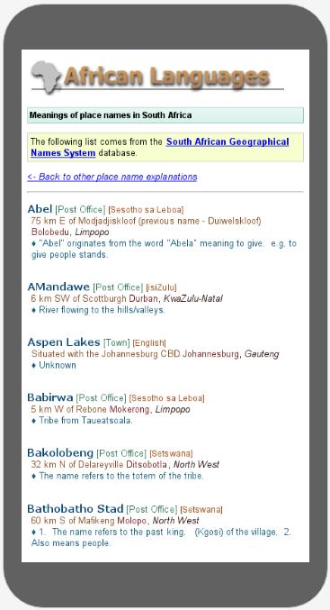 TshwaneDJe Software: gallery / photos / TLex Online Publishing
