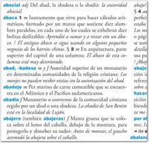 [Diccionario neoddeliteľnou del español de la Argentína Vzorky]